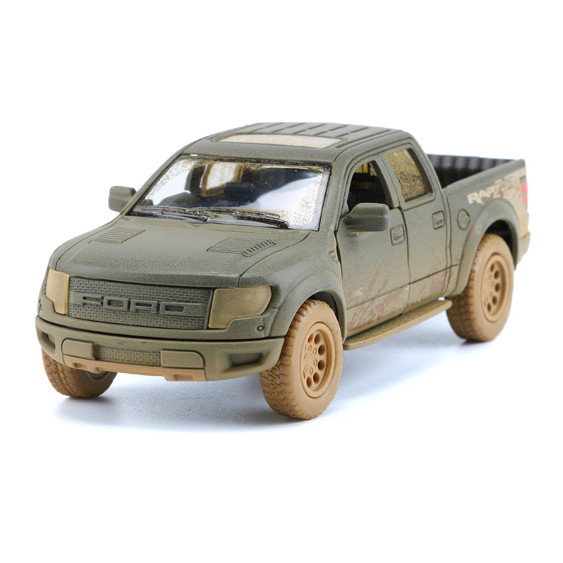 1:46 Truck Model Toy Clay Version Trucks Car Simulation Cars For Collection Toys For Children