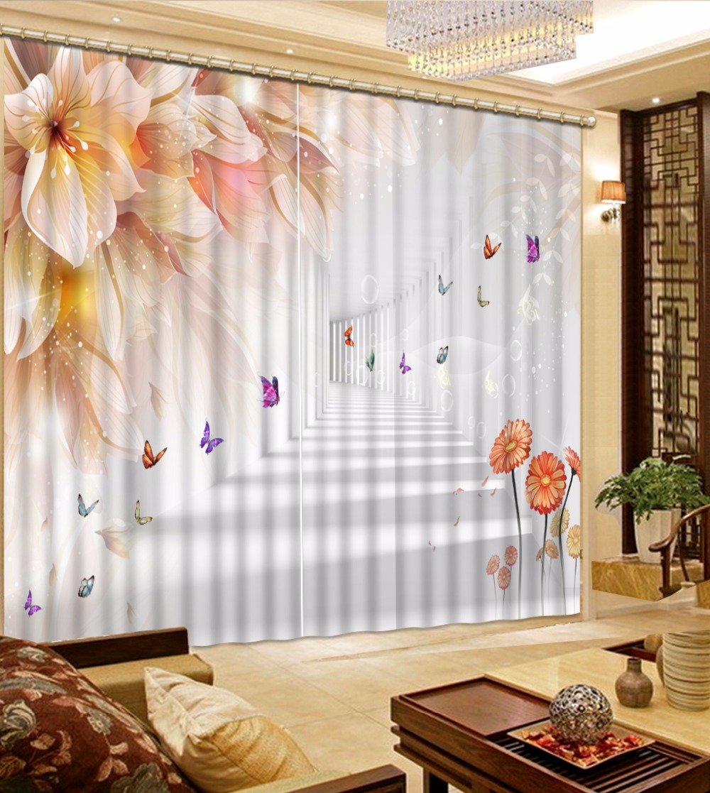 3D Curtain Bed Room Living Room Office Hotel Cortinas Dreamy Space Flowers 3D Bathroom Shower Curtain Blackout Curtain Fabric3D Curtain Bed Room Living Room Office Hotel Cortinas Dreamy Space Flowers 3D Bathroom Shower Curtain Blackout Curtain Fabric