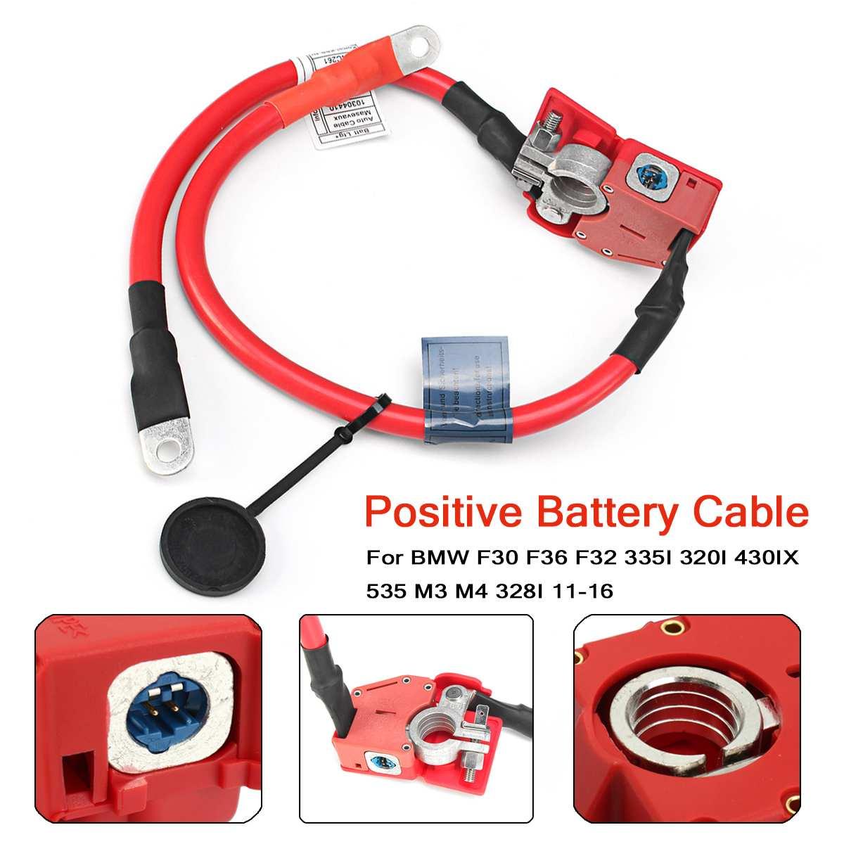 Batterij Overbelasting Protector Kabel Wire Terminal 61129259425 61126834543 Voor BMW F30 F36 F32 335I 320I 430IX 535 M3 M4 11 -16