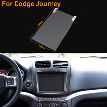 Car Styling 8 Inch GPS Navigation Screen Steel Protective Film For Dodge Journey Control of LCD Screen Car Sticker