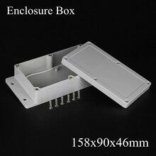 158*90*46 мм IP66 ABS Водонепроницаемый электронный корпус проект коробка Распределения переключатель junction outlet чехол 158 х 90 х 46 мм