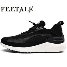 c793ff00d5c4 Men Running Shoes Flynit Men s Sneakers Super Light Sports Shoes Breathable Footwear  Men Jogging Walking Shoes
