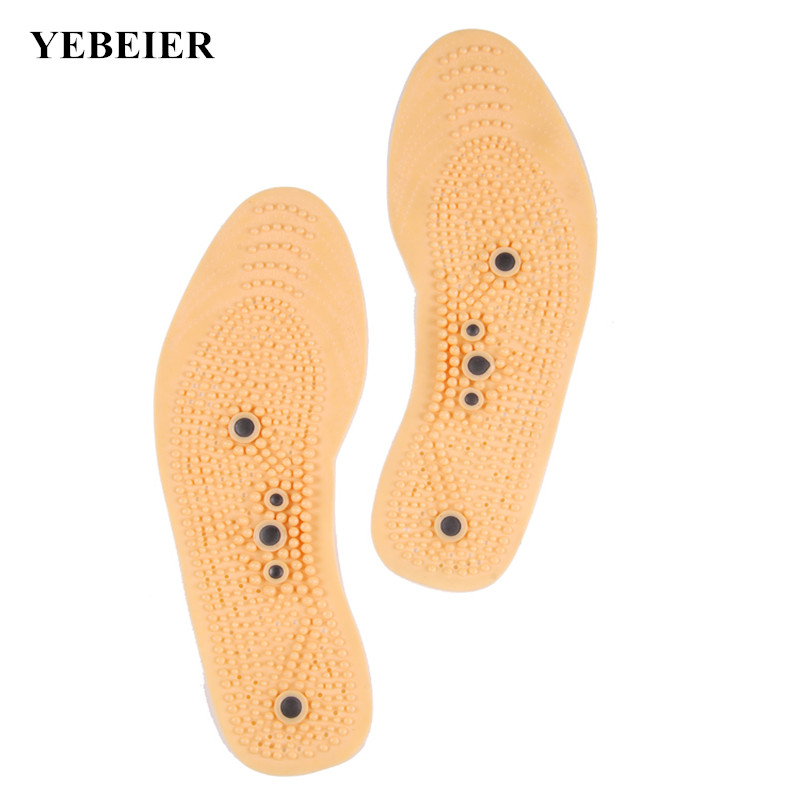 Brand New Foot Massage Insoles Magnetic Therapy Magnet Health Care Antiperspirant Men/ Women Shoes Comfort Pads new foot care feet insole massager shoe pads magnetic therapy thenar massage h7jp