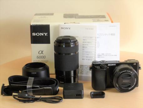 Sony ILCE 6000 A6000Y A6000 243 MP Digital Camera Body 16 50mm