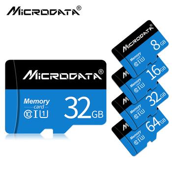 Karta Micro sd 32GB 64GB 128GB SDXC SDHC klasa 10 karta pamięci TF micro sd 8GB 16GB karta Mini sd do smartfona aparatu tanie i dobre opinie MicroData NONE Wysoka prędkość odczytu i zapisu Telefon komórkowy TABLET NOTES Camera Monitorowania Głośniki Digital Devices