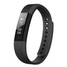Fitness Bracelet ID 115 Smart Bracelet Vibrating Alarm Clock Smart Band Fitness Watch Smartband For xiaomi pk fitbits(China)