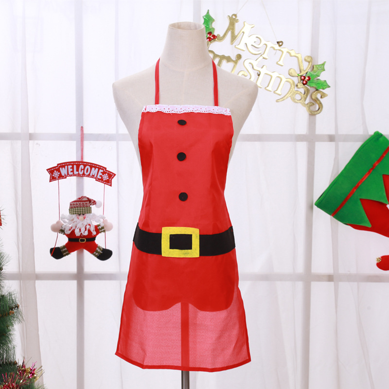 Christmas Decoration Kitchen Christmas Dinner Party Santa Christmas Kitchen in Pendant Drop Ornaments from Home Garden