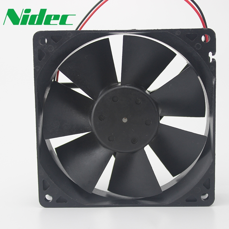 Nidec Original 9CM D09R-12TU 01 12V 0.A 9025 computer chassis cooling fan 90*90*25mm
