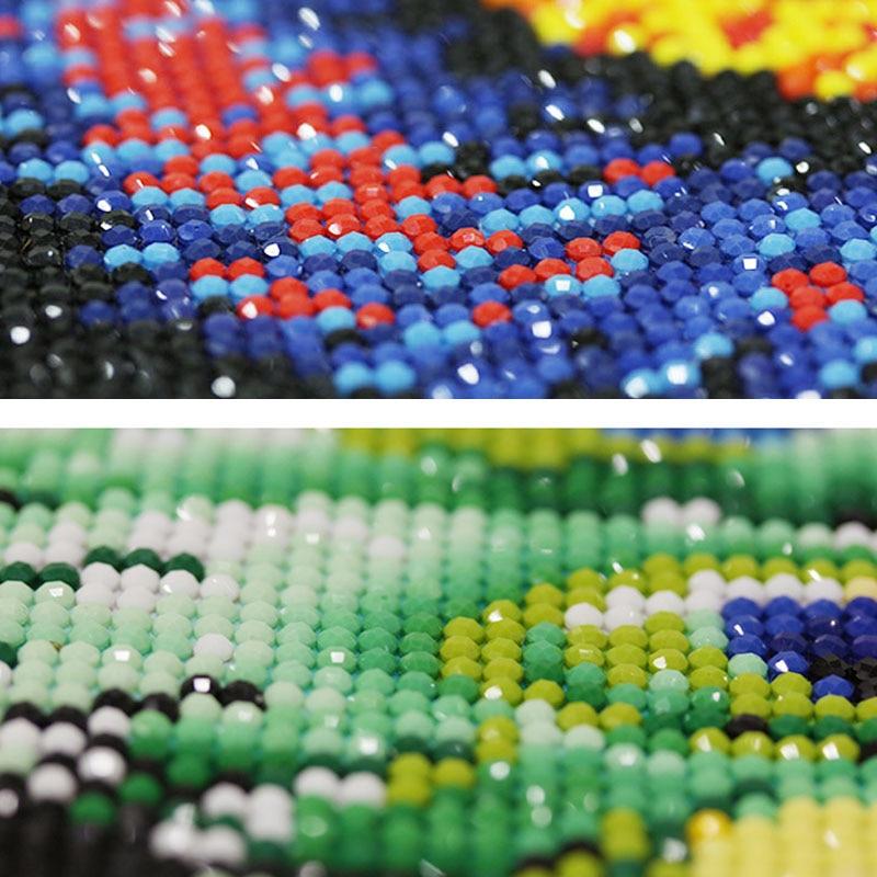 5D DIY Ρολόι Diamond Ζωγραφική Πλήρης Γύρος - Τέχνες, βιοτεχνίες και ράψιμο - Φωτογραφία 5