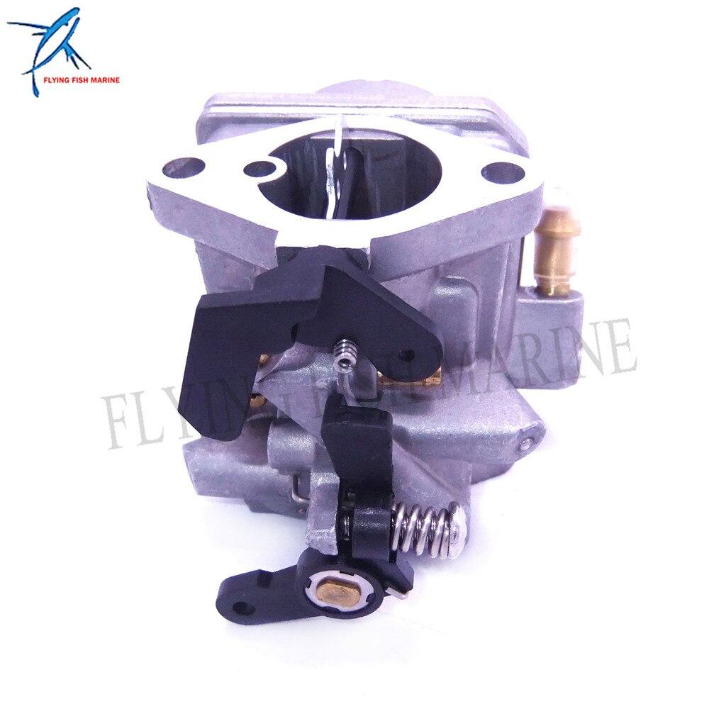 Image 3 - 3JE 03200 0 3JE032000 3JE032000M Outboard Motor Carburetor Assy  for Tohatsu Nissan 4 stroke 6HP MFS6C NFS6C Boat EngineBoat Engine   -