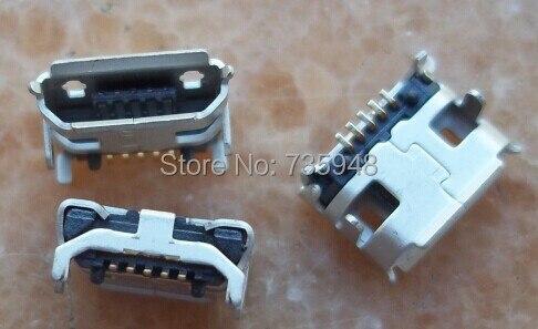 300 pcslot 6.6距離マイクロ5 p usbコネクタ用lenovo a60と他の携帯電話