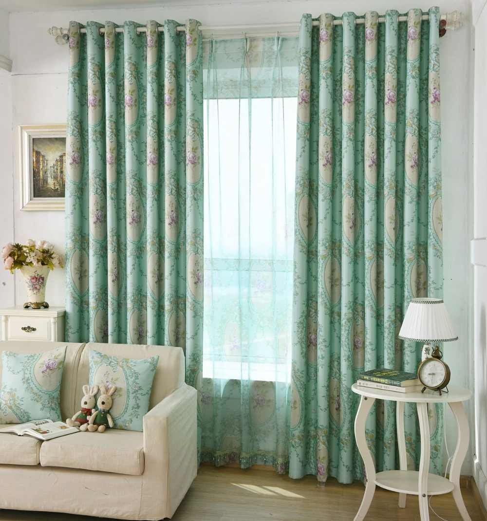 Modern Curtains For Bedroom The Shading Curtain Fabrics European Pattern Simple Modern Curtains For Living Dining Room Bedroom Window