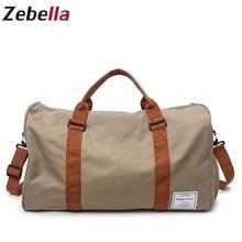 Zebella, мужские дорожные сумки, водонепроницаемые, для переноски багажа, сумки на плечо, большая вместительность, мужская спортивная сумка, короткие, для путешествий, выходные сумки