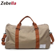 Zebella Men Travel Bags Water Resistent Carry on Luggage Sho
