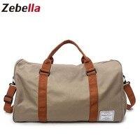 Zebella Men Travel Bags Water Resistent Carry on Luggage Shoulder Bags Large Capacity Men Duffel Bag Short Tour Weekend Bags