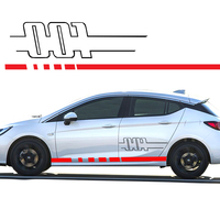 YONGXUN For Opel Astra Sides 001 MK6 Side Decals Vinyl Graphics Stickers Car Styling DA 0058T