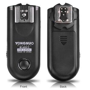 Image 2 - YONGNUO RF 603 II C1 RF603II C1 Kablosuz Flaş Tetik 2 Vericiler için Canon 70D 60D 650D 700D 600D 550D 450D 100D 1100D