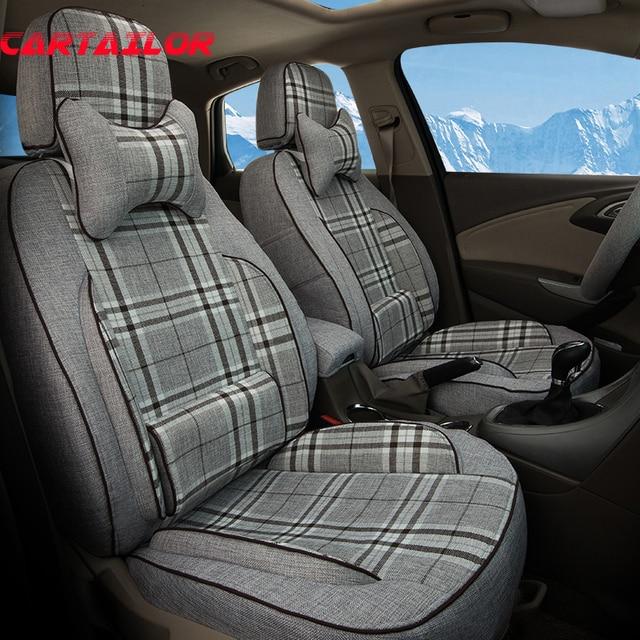 CARTAILOR Auto Seat Covers Custom Fit For Suzuki Kizashi Sport Car Cover Set Durable