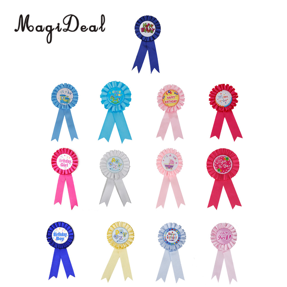 MagiDeal с днем рождения Это девочка/мальчик мама, чтобы быть Baby Shower орденская лента знак вечерние сувениры подарок baby Shower вечернее изящное плат...