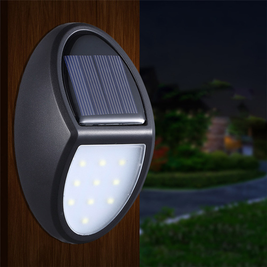 Super 2 Pcs Solar Lights with 10 LED Waterproof Motion Sensor Outdoor Light for Patio, Deck, Yard Dropshipping June#6 ...