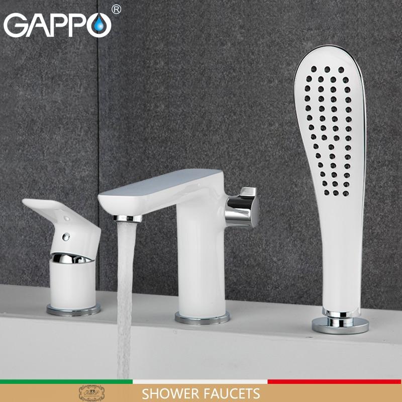 GAPPO shower faucet bathroom faucet bath shower mixer basin sink faucet bath tub brass rainfall Bathtub taps system