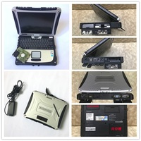 Laptop CF19 P anasonic CF 19 Toughbook for alldata and mitchell software MB Star c3 c4 c5 CPUi5 4gb computer cf 19 free shipping