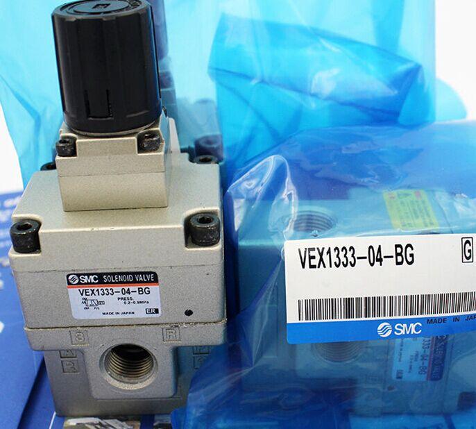 BRAND NEW JAPAN SMC GENUINE VALVE VEX1300-04 [sa] new japan smc solenoid valve syj5240 5g original authentic spot