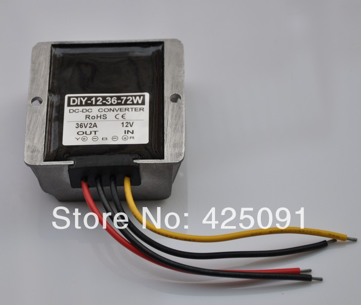 12V(10-20V) Step up to 36V 2A 72W  DC Converter Module power adaptor Regulator RoSH CE woodwork a step by step photographic guide to successful woodworking