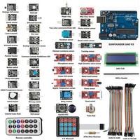 Best Price High Quality UNO R3 Basic Starter Learning 37X Sensor Module Board Kit For Arduino