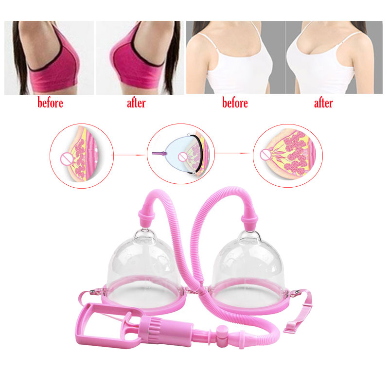Chest Enhancement Cupping Breast Enlargement Pump for Women Chest Vacuum Cupping Body Massager Suction Pump Breast Amplifier in Massage Relaxation from Beauty Health