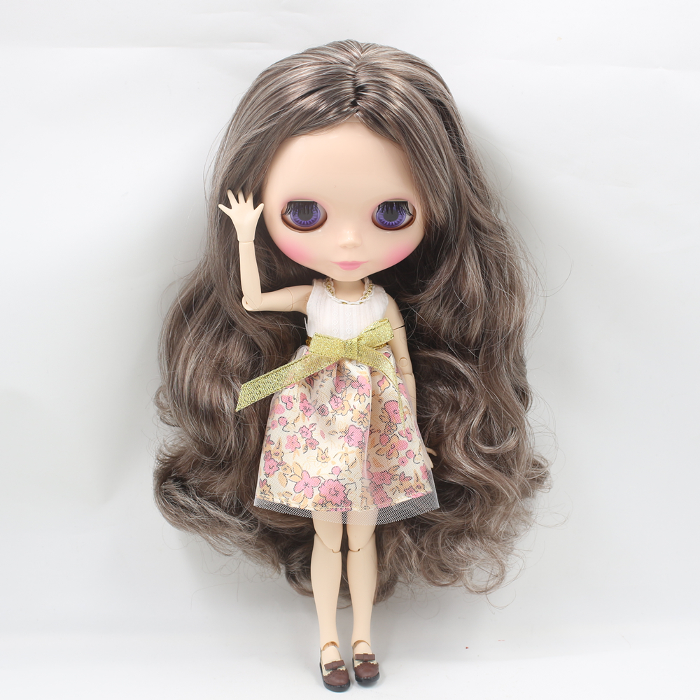 Blyth <font><b>doll</b></font> nude brown hair with joint body <font><b>doll</b></font> blyth <font><b>bjd</b></font> <font><b>1/6</b></font> <font><b>doll</b></font> toys for girls image