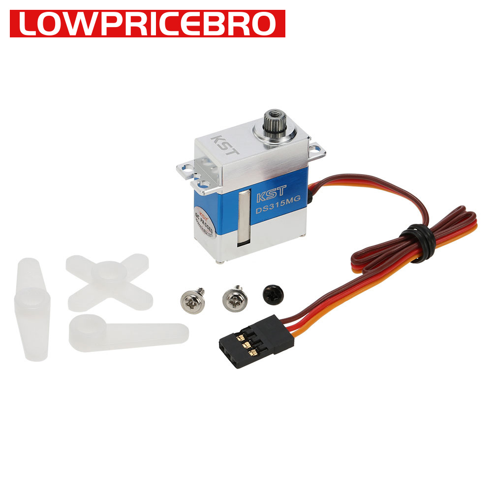 KST DS315MG 8.4V 4kg Metal Gear Mini Digital Servo Motor for Drone UAV Helicopter Airplane RC Models-in Parts & Accessories from Toys & Hobbies    1