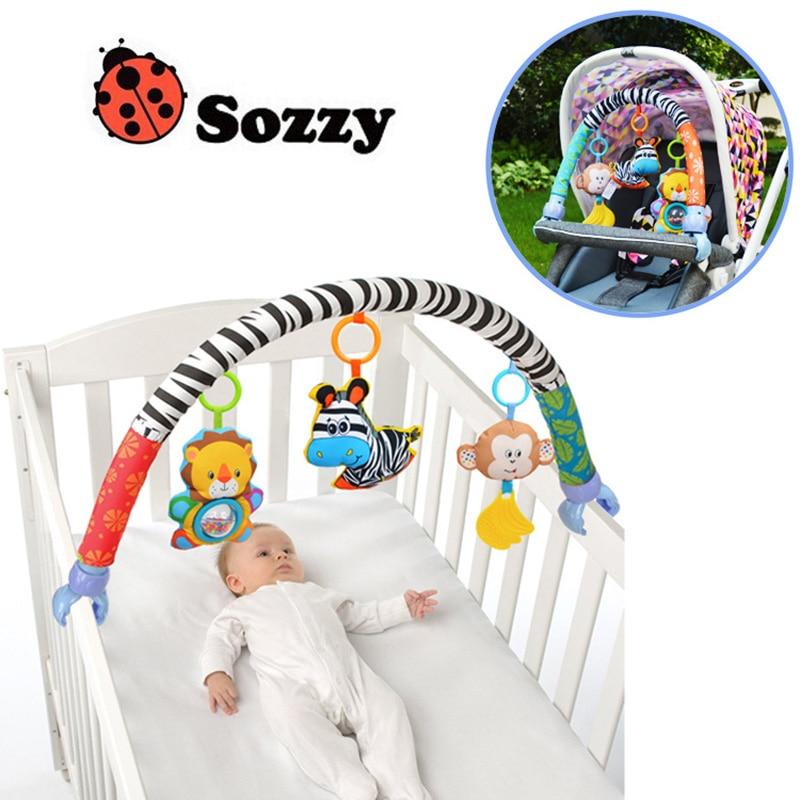 Sozzy Baby arabası / yataq / çarpayıda döşlər üçün asma - Körpələr üçün oyuncaqlar