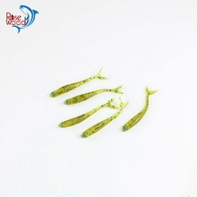 New Arrivals 8cm 1.7g soft baits isca artificial small shad fish mini soft lures silicone soft plastic bait for fishing