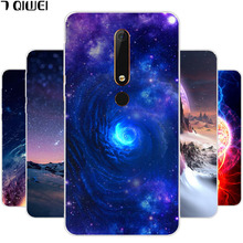 hot deal buy for nokia 6.1 case silicone soft tpu cover for nokia 6 2018 case fashion star cover for nokia 6.1 phone cases ta-1043 ta-1050