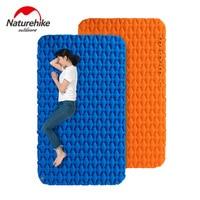 Naturehike надувная подушка для кемпинга, влагостойкий спальный мешок, коврик для матраса с пневмоподушка для 1-2 человек