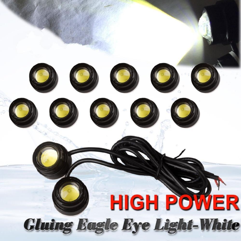CYAN SOIL BAY 10X 23mm Eagle Eye LED 9W Xenon White Motor Car DRL Fog Driving