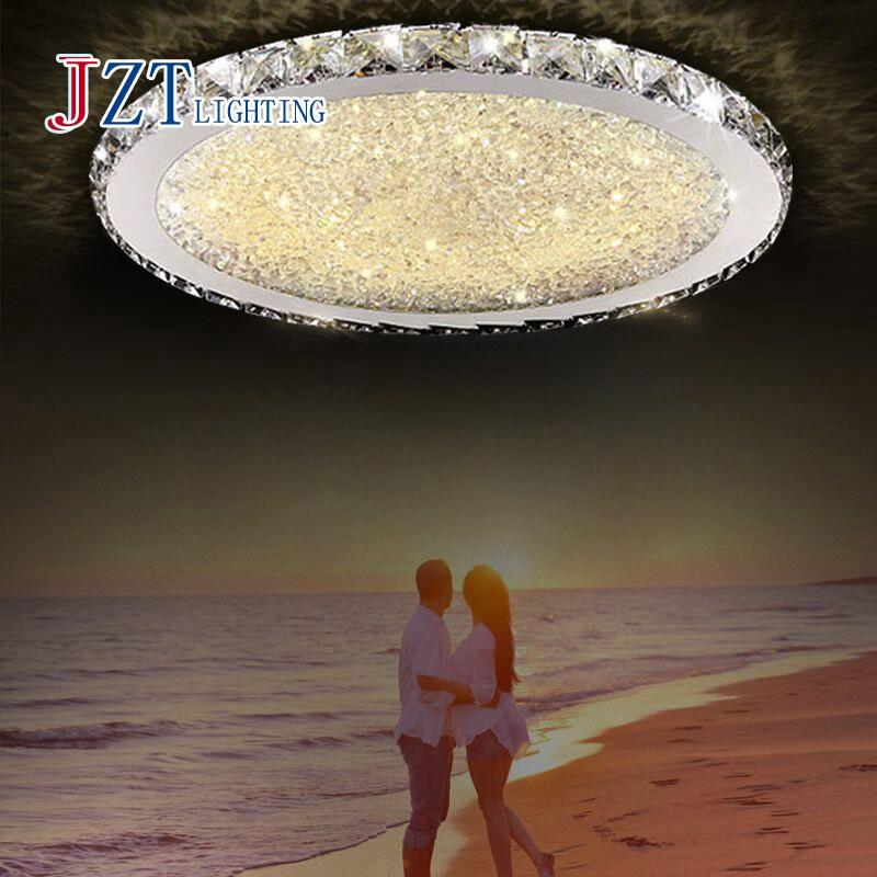 Z Modern Luxurious Round LED Ceiling Lamp For Livingroom Restaurant Bedroom Diameter 35 45 60 80cm