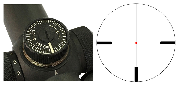 VO Forester Adjust & Reticle Acom 2-2