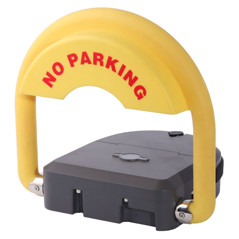 outdoor used water proof remote control battery powered automatic parking barrier parking lock parking space saver with IP68 reserved parking lock for cars parking parking space blockers for hotel parking lot no battery