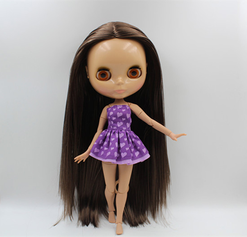 Enthusiastic Free Shipping Top Discount 4 Colors Big Eyes Diy Nude Blyth Doll Item No Toys & Hobbies 393j Doll Limited Gift Special Price Cheap Offer Toy Buy One Give One