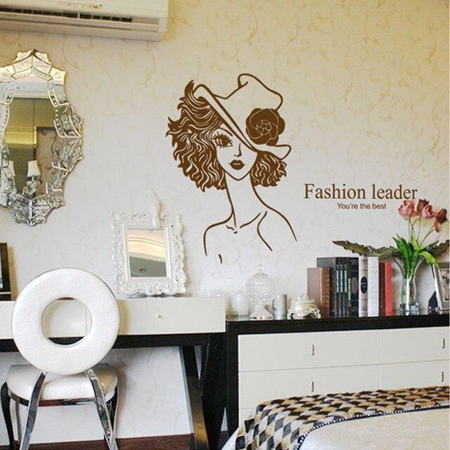 Modische mädchen tapete grün qualität PVC wohnzimmer schlafzimmer ...