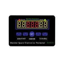 цена на 12 24 220V LED Digital Temperature Controller W1411 Thermostat Control Switch Sensor