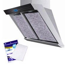 1 мешок экстрактор вентилятор фильтр анти-масло всасывания бумаги s Кухонные гаджеты плита вытяжка фильтр бумага портативный масляный фильтр пленка нетканый