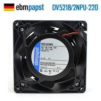 YENI ebmpapst PAPST DV5218/2NPU-220 12738 48 V 23 W IP68 su geçirmez soğutma fanı