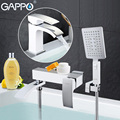 GAPPO высококачественный смеситель для раковины  водопад torneira смеситель для раковины в туалете смесители для душа и умывальника  смеситель дл...