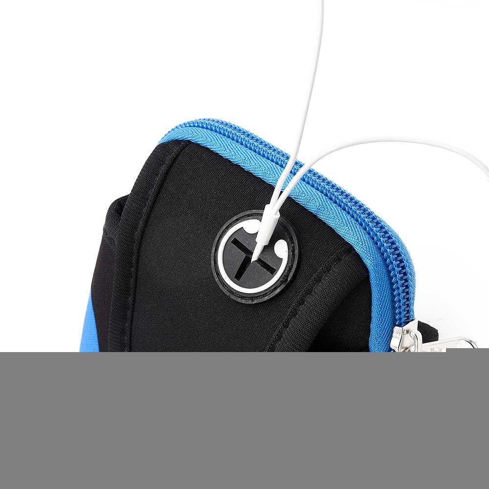 Спортивная Беговая повязка для телефона чехол для iPhone 6 7 8 plus 5,5 дюймов универсальная уличная повязка для телефона на ручная крышка держатель для телефона