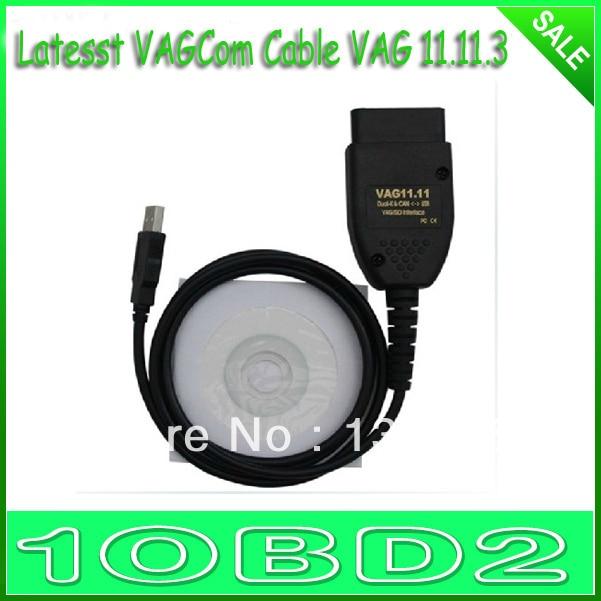 for VAGCOM Cable VAG hex can 11.11.3 interface VAG-COM 11.11.3 5pcs/lot Hot Sale High Quality
