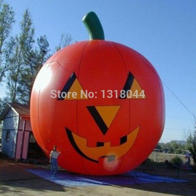 en plein air 6 m 20ft gant halloween dcoration gonflable citrouille pour halloween promotionnel - Decoration Citrouille Pour Halloween