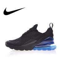 Original Authentic Nike Air Max 270 Men's Running Shoes Black Sneakers Color Heel Breathable Athletic Designer Footwear AH8050